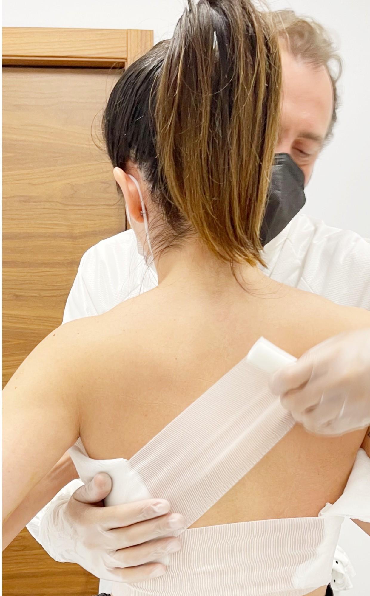postoperatorio aumento de senos
